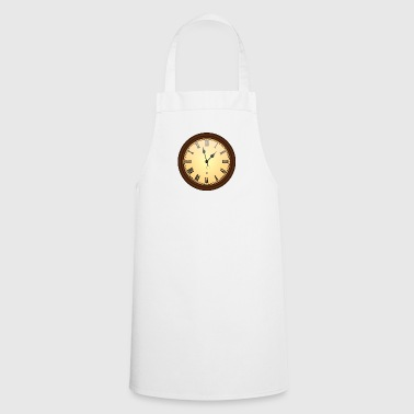 wall clock - Cooking Apron