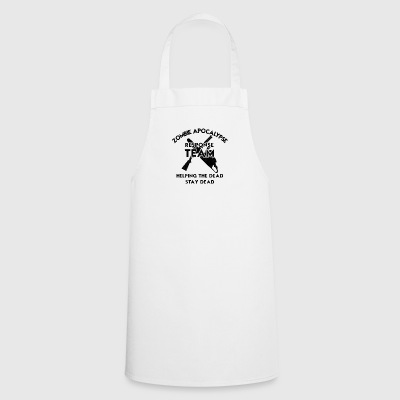 Zombie: Zombie Apocalypse Response Team. Helping - Cooking Apron