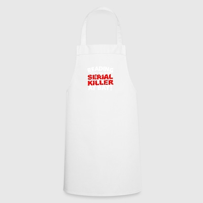 34 serial killer reading - Cooking Apron