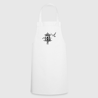 bird house - Cooking Apron