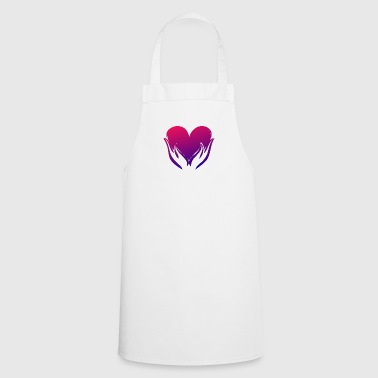 Heart illustration - Cooking Apron