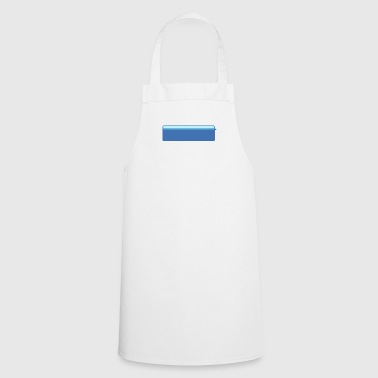 chat bubble right blue big - Cooking Apron