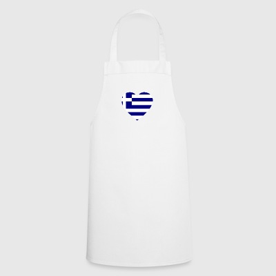 Love love gift Greece greece - Cooking Apron