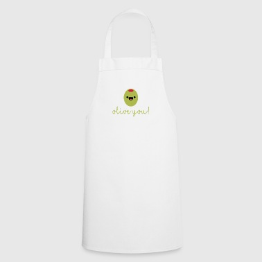 Fruit / Fruits / Vegetables: Olive - Olive you! - Cooking Apron