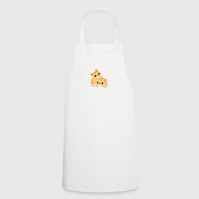 Two cute cats - Cooking Apron