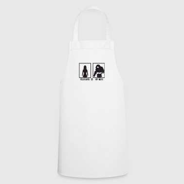 Comparison: Your Wife vs. My Wife - Cooking Apron