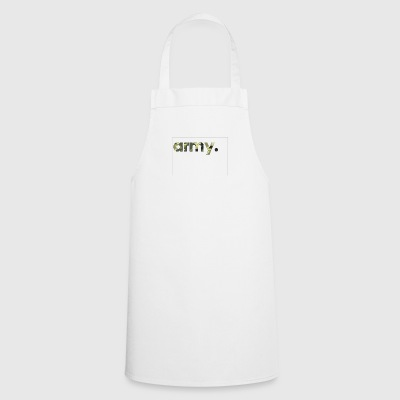 Army Camouflage - Cooking Apron