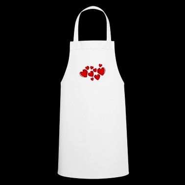 Heart Valentines Day - Cooking Apron