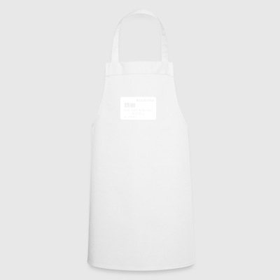 Spacecard wite - Cooking Apron