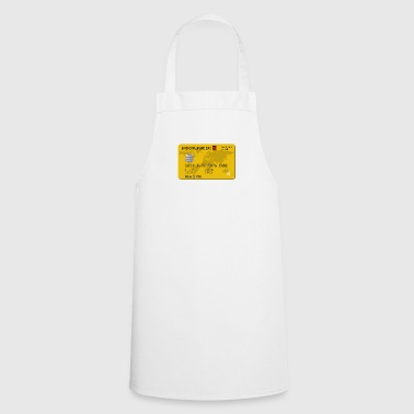 Credit card - Cooking Apron