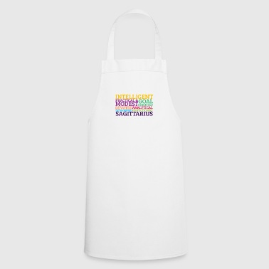 Signs of the Zodiac Sagittarius - Cooking Apron