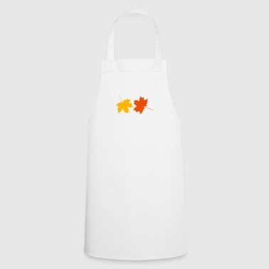Autumn leaves - Cooking Apron