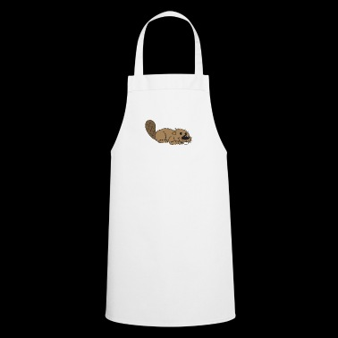 beaver biber rodent rodents wood water17 - Cooking Apron