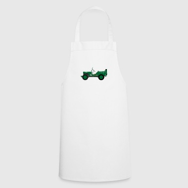 Army vehicle - Cooking Apron