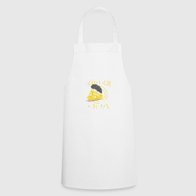 Railroad - My Grandpa plays with trains - T-shirt - Cooking Apron