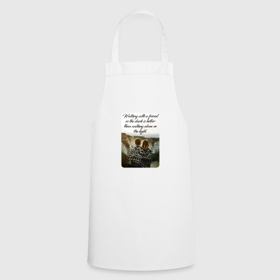 Walking with a friend in the dark - Cooking Apron
