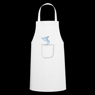 Funny realistic storm in the bag design - Cooking Apron