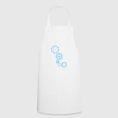 gear blue - Cooking Apron