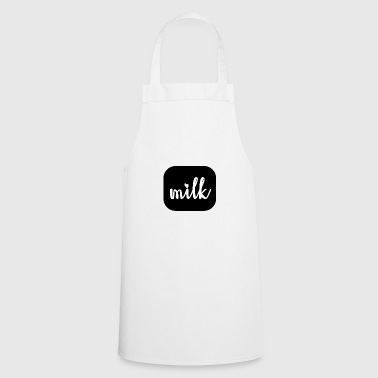 milk - big milk love - Cooking Apron