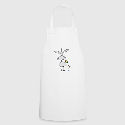 Dru - colorful pee - Cooking Apron