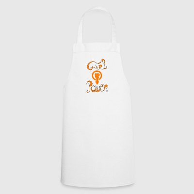 girl power 1 - Tablier de cuisine