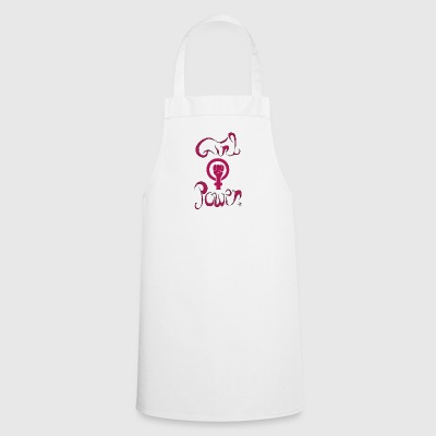 girl power1 - Tablier de cuisine