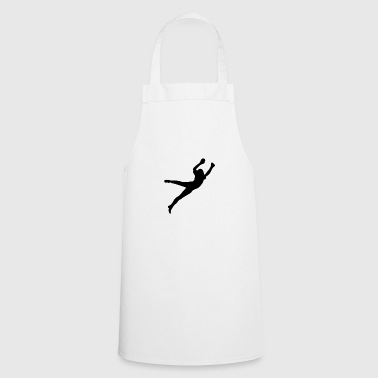 Goalkeeper jump - Cooking Apron