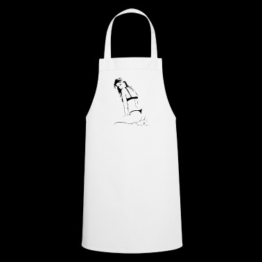 Erotic woman - Cooking Apron