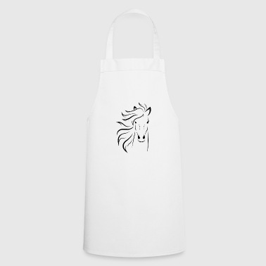 Mare, stallion, horse, foal - Cooking Apron