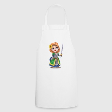Knight with sword - Cooking Apron