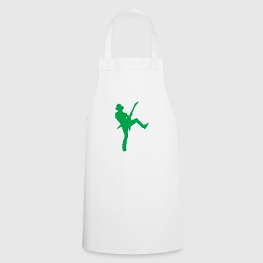 Guitarist - silhouette - Cooking Apron