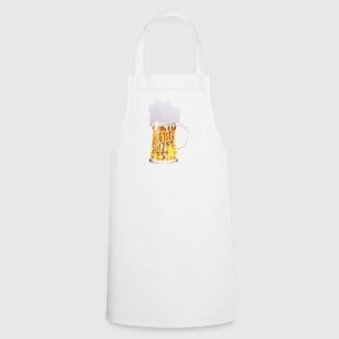 Beer festival - beer - drinking - Cooking Apron
