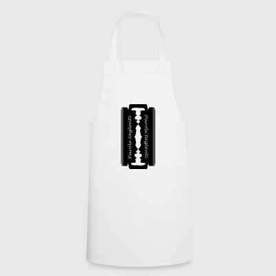 sharp words - Cooking Apron