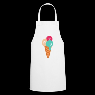 ice cream ice cream restaurant ice cream sundae62 - Cooking Apron