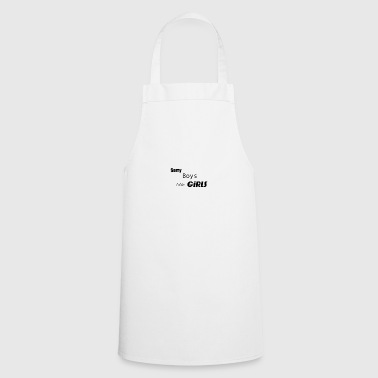 Sorry Boys - Cooking Apron