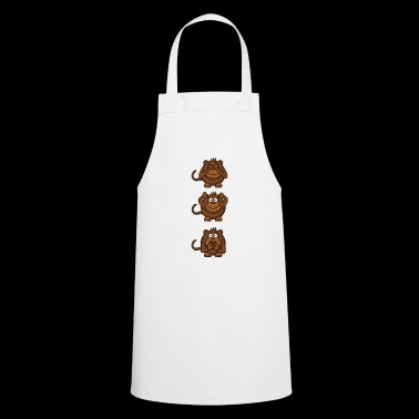monkey faces - Cooking Apron
