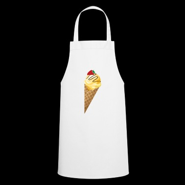 ice cream ice cream restaurant ice cream sundae26 - Cooking Apron