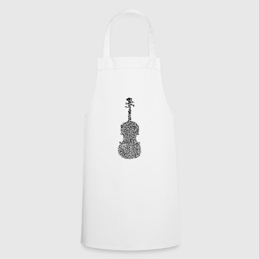 Violin violin musical instrument - Cooking Apron