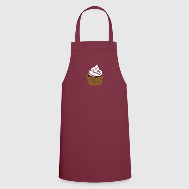 cupcake with cream / Muffin mit Sahne (c, 3c) - Cooking Apron