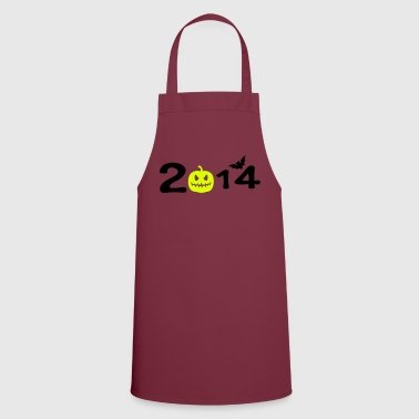 2014 halloweeen typo - Cooking Apron
