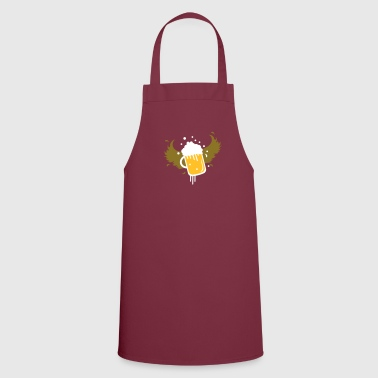 Beer glass with wings for Beer Festival visitors. - Cooking Apron