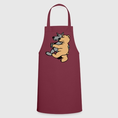 Wolf and Bear  Aprons - Cooking Apron