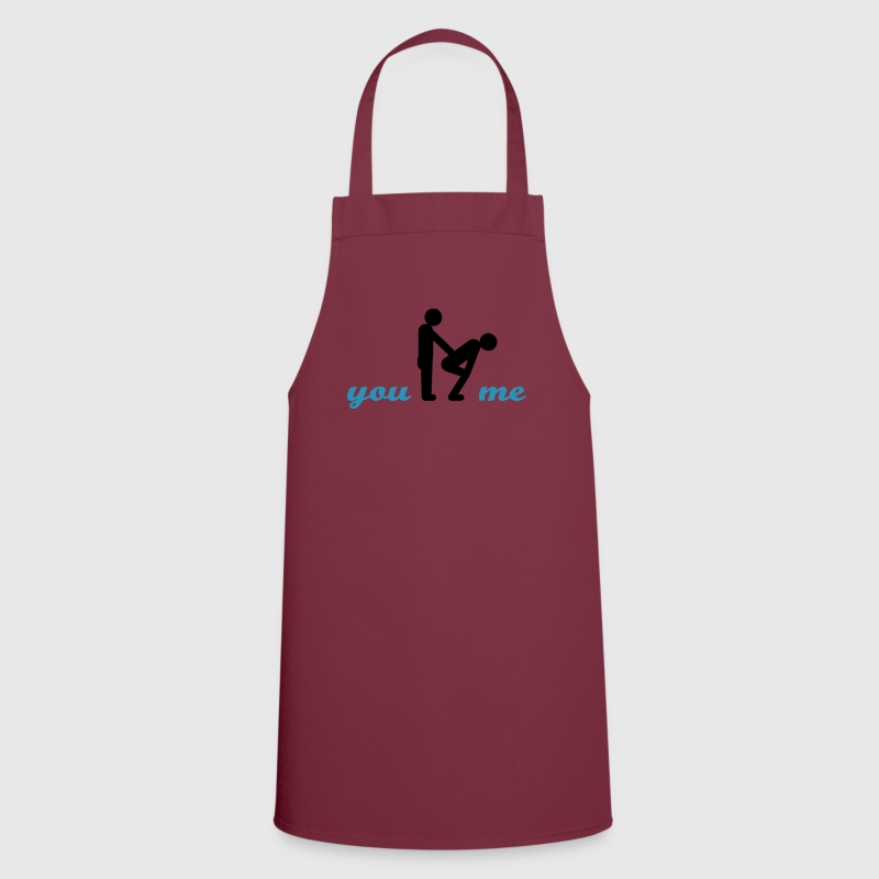 gay guys bottom - Cooking Apron