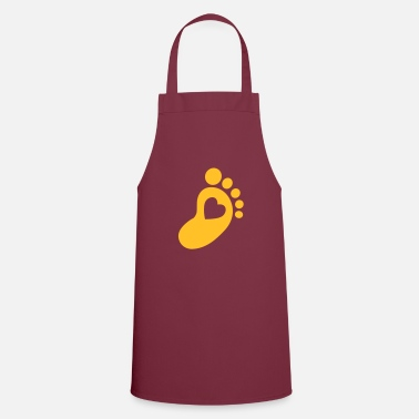 Foot Baby foot  - Cooking Apron