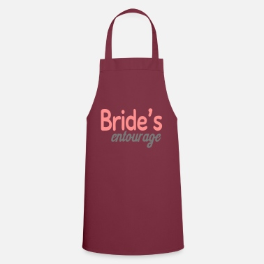 Brides Entourage Bride's entourage - Apron