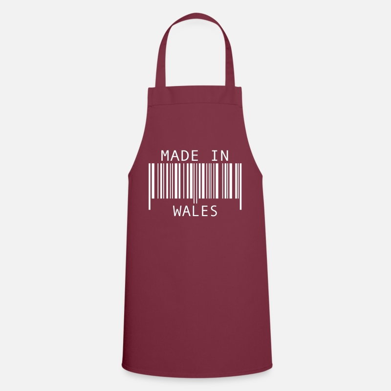 Britain Aprons - Made in Wales - Apron bordeaux