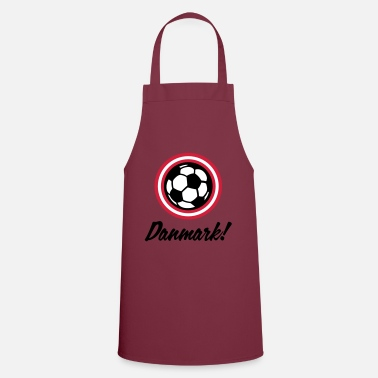Scandinavia Football coat of arms of Denmark - Apron