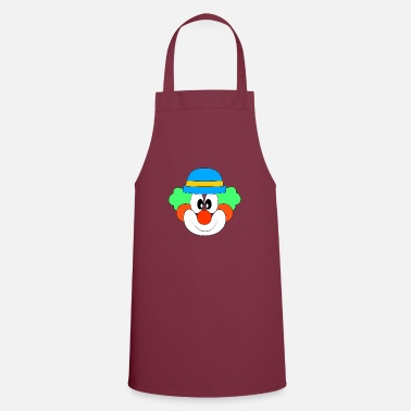 Red Clown Carnival Halloween - Apron