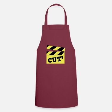 Cut film cutting board cut! - Apron