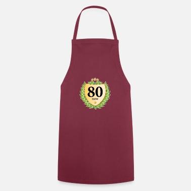 80 Compleanno Cresta Corona Dalloro Stelle Dorate Tazza Termica